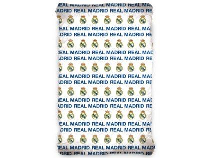 Fotbalové prostěradlo Real Madrid Bílé