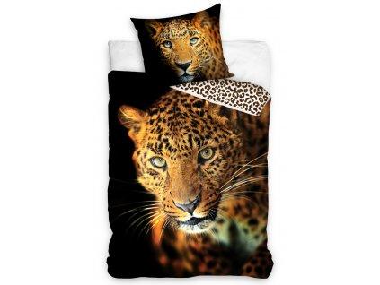Bavlněné povlečení Leopard