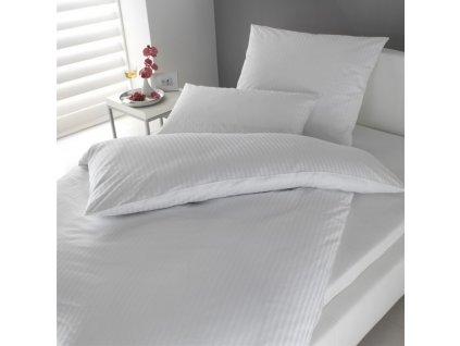 Hotelové povlečení Atlas Grádl Bílé Velikost: 140x200 + 70x90 cm