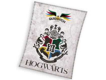 Dětská deka Harry Potter Famfrpál 130x170 cm