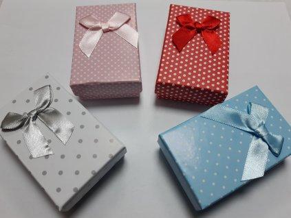 Krabička papierová s mašličkou