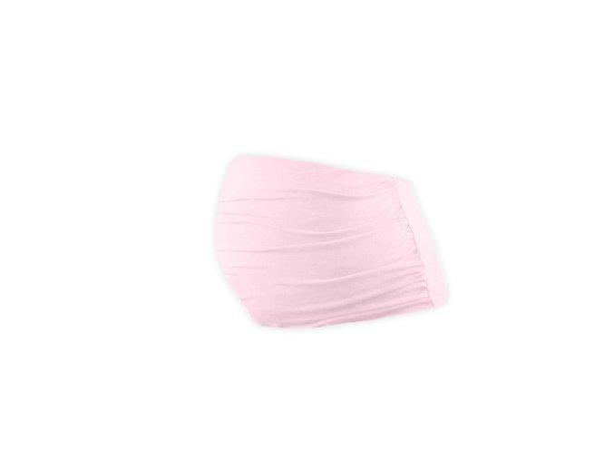 Těhotenský pás Lili - sv. růžový, vel. M/L a L/XL