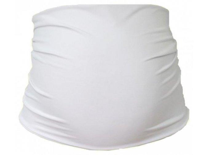Těhotenský pás - Bílý