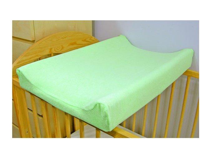 Jersey potah na přebalovací podložku - zelený