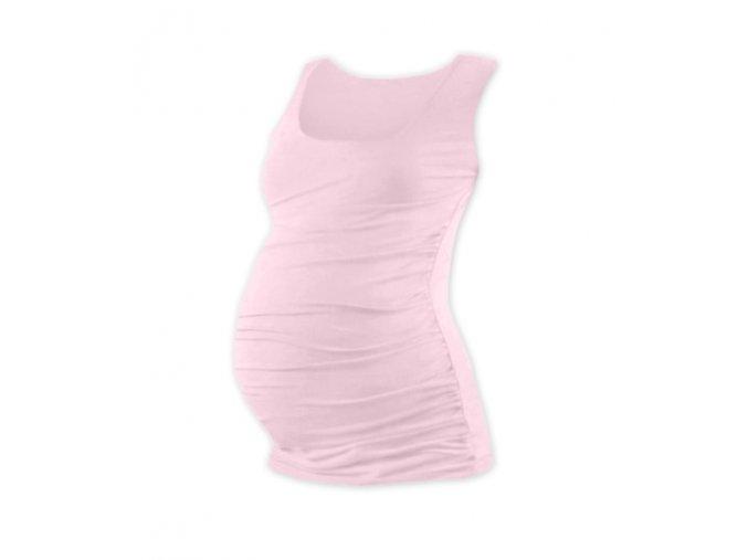 Těhotenské tílko - Lili sv. růžová, vel. L/XL