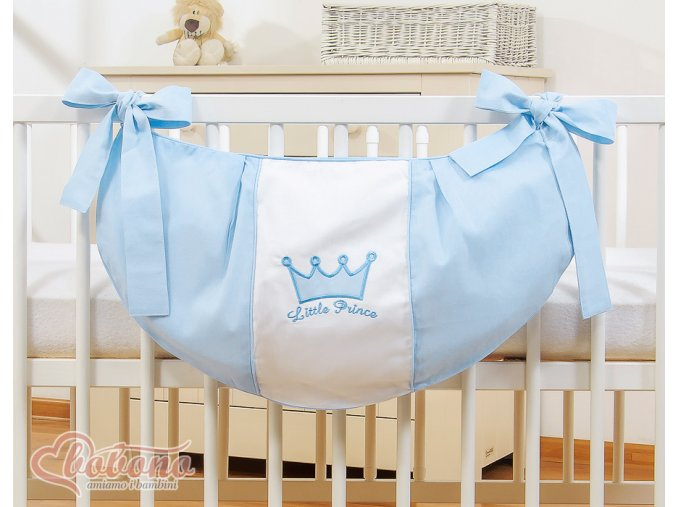 Vak na hračky - Little prince modrý