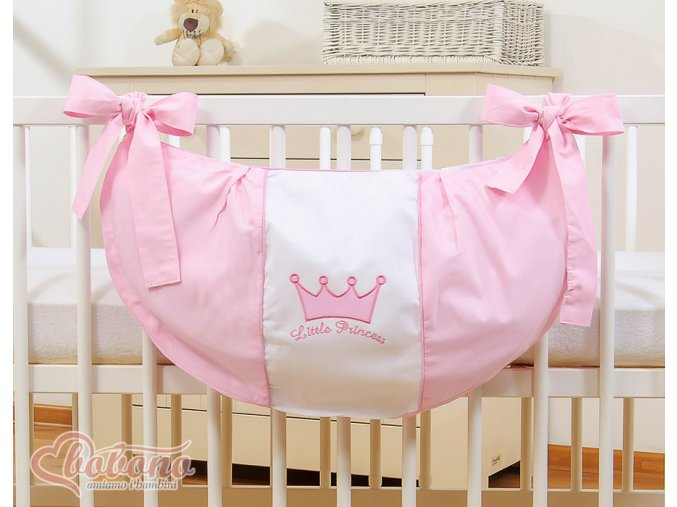 Vak na hračky - Little princess růžová