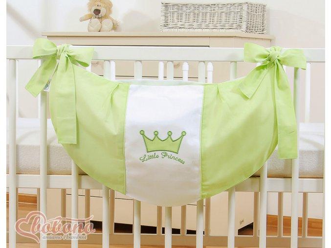 Vak na hračky - Little princess zelená