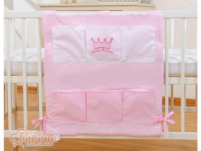 Kapsář - Little princess růžová