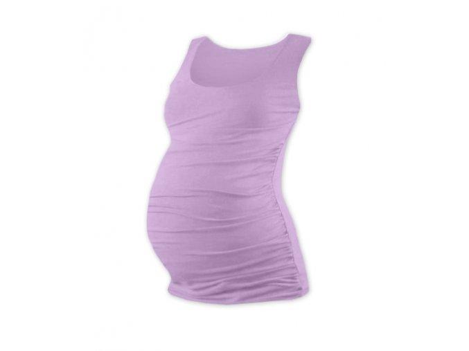 Těhotenské tílko - Lili levandulová