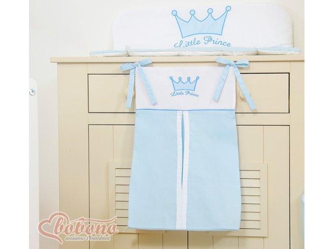 Kapsář na plenky - Little prince modrý