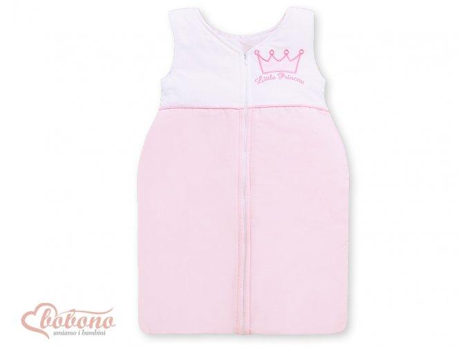 Spací vak - Little princess růžová