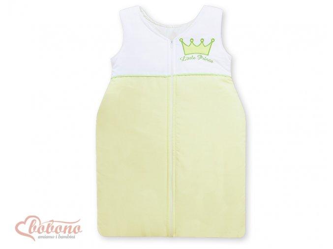 Spací vak - Little prince zelený