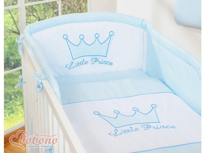 Povlečení s mantinelem - Little prince modrý