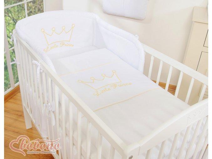 Povlečení - Little prince bílý