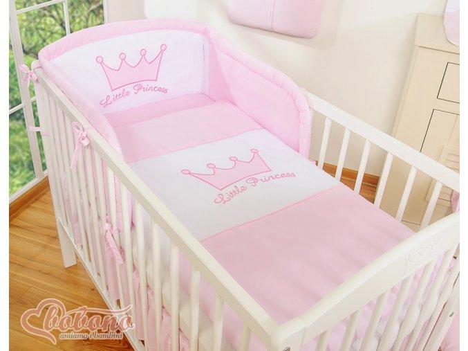 Povlečení - Little princess růžová