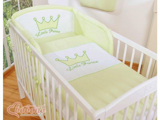 Povlečení - Little prince zelený