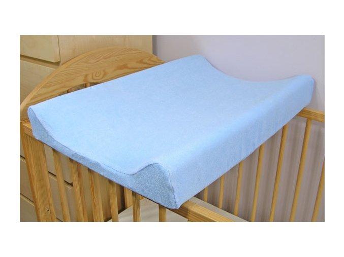 Jersey potah na přebalovací podložku - modrý