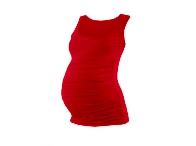 Těhotenské tílko - Lili červená