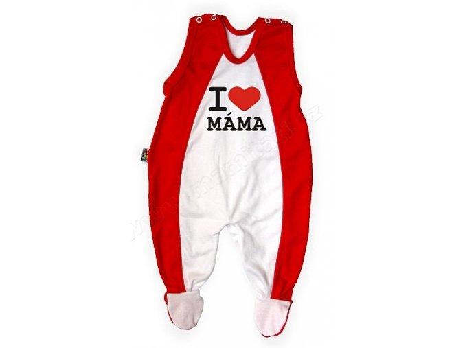 Dupačky - I love máma