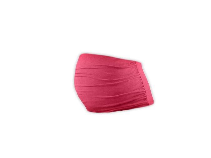 Těhotenský pás Lili - lososově růžová