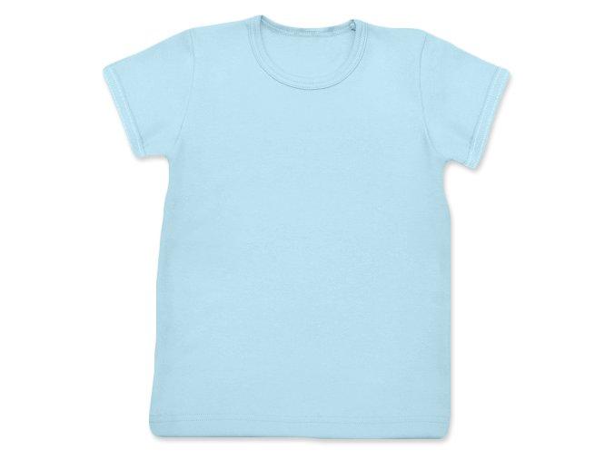 Tričko s krátkým rukávem sv. modrá, vel. 80