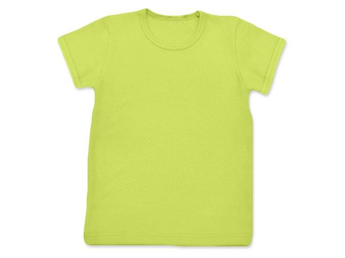Tričko s krátkým rukávem sv. zelená, vel. 74