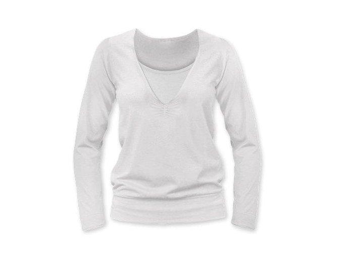 Kojící tričko s dlouhým rukávem - Karla smetanová