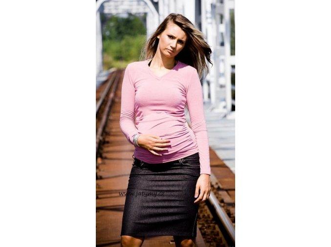 Těhotenská sukně Sara černá