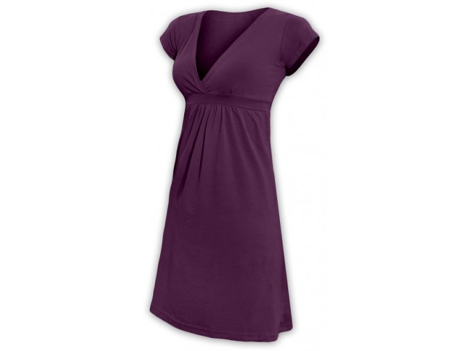 Šaty Šarlota švestková