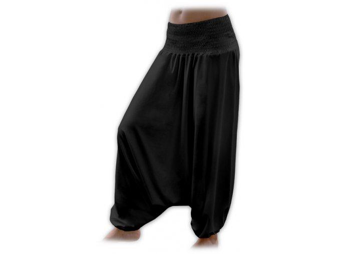 Turecké kalhoty - černá