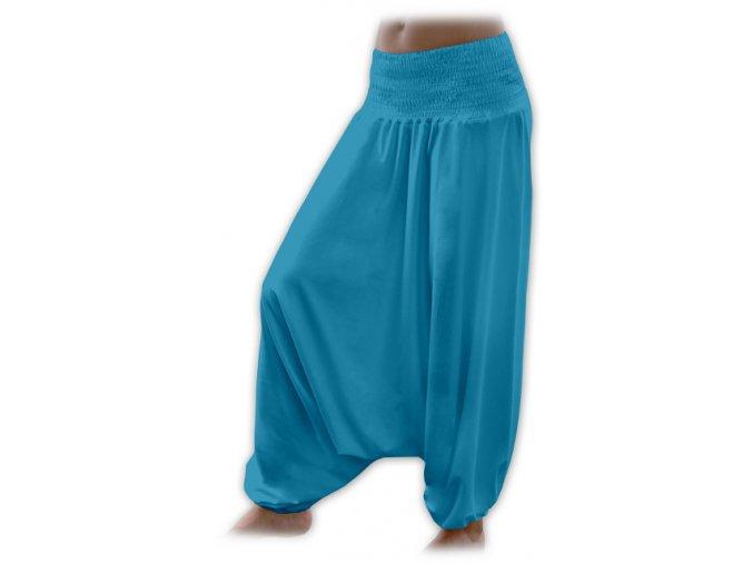 Turecké kalhoty - mořská, vel. S/M