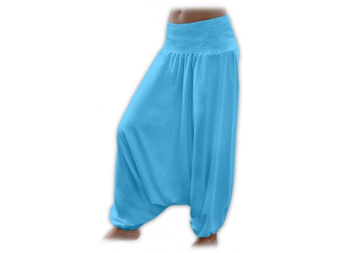 Turecké kalhoty - tyrkysová