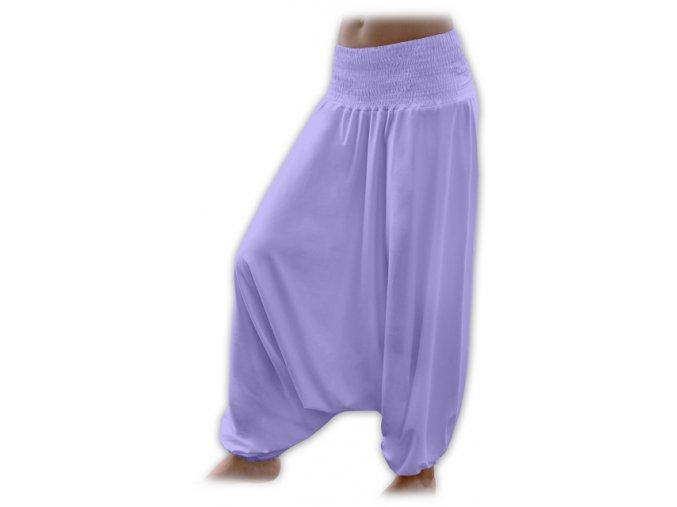 Turecké kalhoty - lila, vel. S/M a M/L