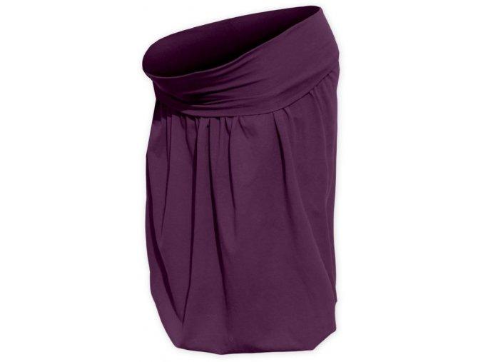Balónová sukně švestková