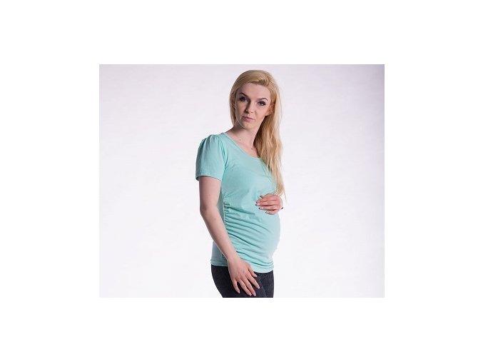 Těhotenské tričko - Joly mátové