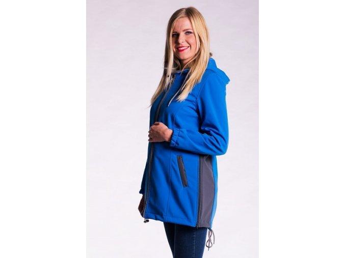 Softshellová bunda 2v1 - modrá