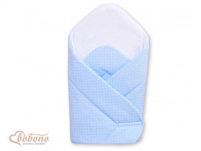 Zavinovačka - Srdíčka modrá s tečkami