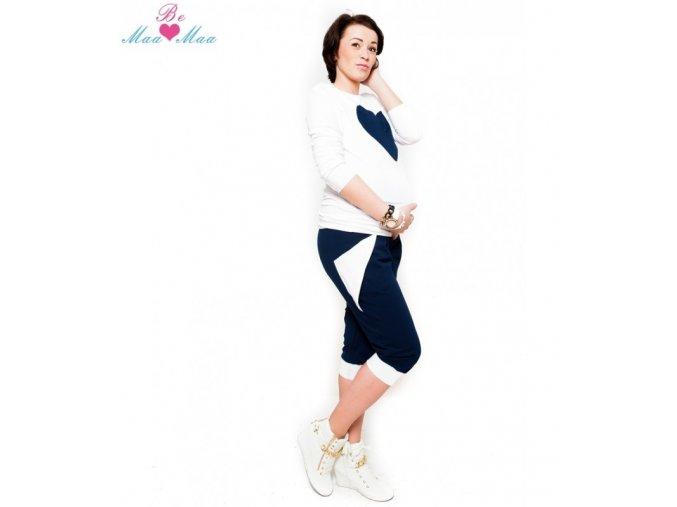 Sportovní 3/4 kalhoty Tessi granátové, vel. XL