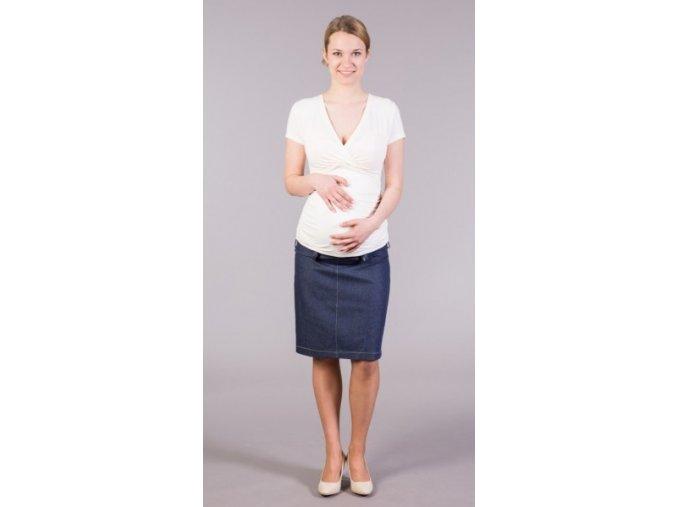 Těhotenská sukně Jeans Somi, vel. S a M