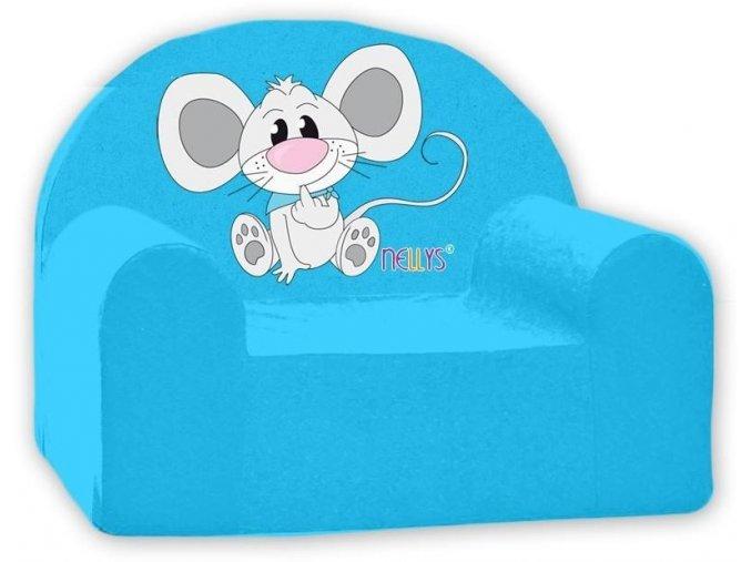 myška modrá