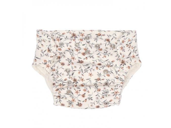 Látkové kalhotky + plenky - Louka ecru
