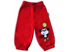 Tepláčky - Opička červená, vel. 80