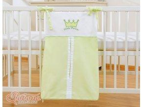 Kapsář na plenky - Little princess zelená