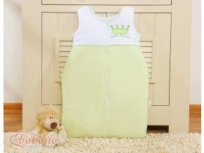 Spací vak - Little princess zelená