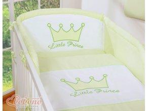 Povlečení s mantinelem - Little prince zelený