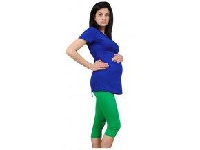 3/4 těhotenské legíny - zelené
