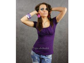 Tričko - ASIA fialové