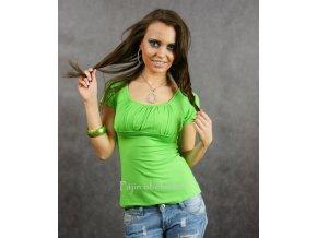 Tričko - ASIA sv. zelené