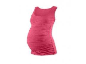 Těhotenské tílko - Lili lososově růžová